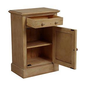Petit meuble de rangement en épicéa naturel cendré - Natural - Visuel n°2