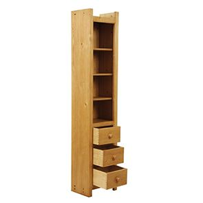 Bibliothèque modulable 3 tiroirs - Natural - Visuel n°2