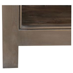 Bibliothèque en épicéa brun fumé grisé L84 cm - Natural - Visuel n°8