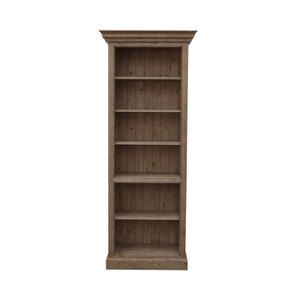 Bibliothèque en épicéa brun fumé grisé L84 cm - Natural - Visuel n°6
