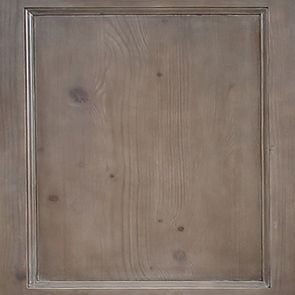 Bibliothèque vitrée en épicéa massif brun fumé grisé - Natural - Visuel n°2