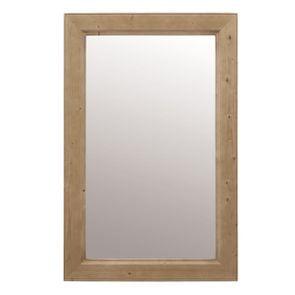 Miroir rectangulaire naturel