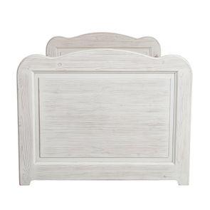 Lit enfant à tiroirs 90x190 cm en épicéa massif nuage de blanc - Natural - Visuel n°7