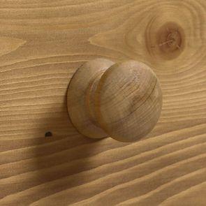 Lit 180x200 avec tiroirs en épicéa naturel ciré - Natural
