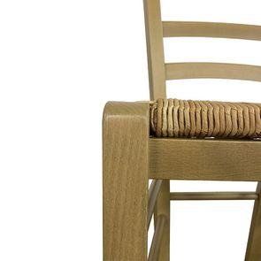 Chaise paillée en hêtre massif naturel cendré - Natural - Visuel n°7