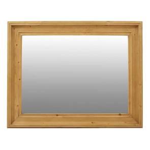 Miroir rectangulaire en épicéa massif- Natural