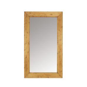 Miroir rectangulaire en épicéa massif - First