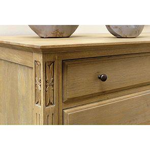 Commode double 8 tiroirs en chêne massif - Domaine - Visuel n°3