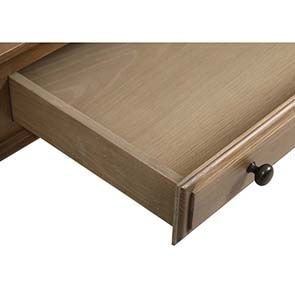 Bureau avec tiroirs en chêne massif - Domaine - Visuel n°3
