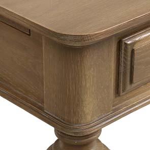 Bureau avec tiroirs en chêne massif - Domaine - Visuel n°4