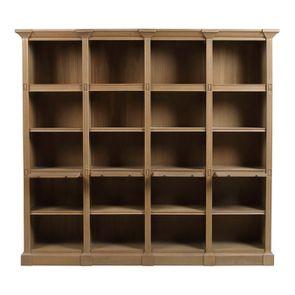Bibliothèque en chêne massif 4 modules - Domaine - Visuel n°2