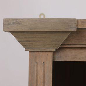 Bibliothèque en chêne naturel fumé 4 modules - Domaine - Visuel n°15