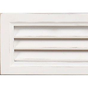Commode blanche 4 tiroirs en épicéa massif - Vénitiennes - Visuel n°2