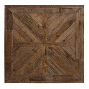 Table carrée blanche en épicéa 8 personnes - Vénitiennes - Visuel n°4