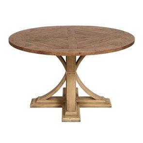 Table ronde en épicéa massif 4 à 6 personnes - Vénitiennes