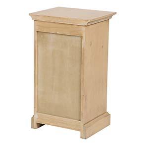 Table de chevet en épicéa massif 3 tiroirs - Vénitiennes - Visuel n°10