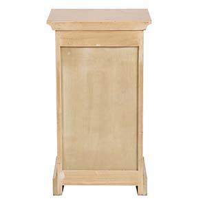 Table de chevet en épicéa massif 3 tiroirs - Vénitiennes - Visuel n°11