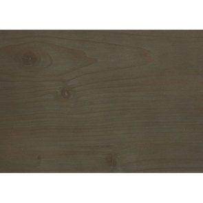 Lit 140x190 en épicéa massif brun fumé grisé - Vénitiennes - Visuel n°2