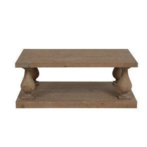 Table basse rectangulaire en épicéa - Héritage