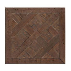 Bout de canapé industriel en bois recyclé et métal - Loft - Visuel n°4