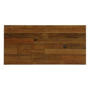 Commode industrielle 3 tiroirs en bois recyclé - Empreintes - Visuel n°5