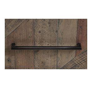 Table de chevet industrielle en bois recyclé naturel grisé - Empreintes - Visuel n°4