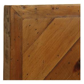 Lit industriel 160x200 en bois recyclé - Empreintes - Visuel n°7