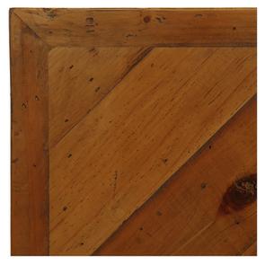 Lit industriel 160x200 en bois recyclé - Empreintes - Visuel n°8