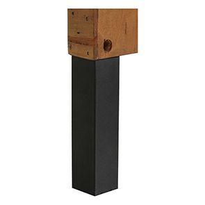 Tête de lit 90 industrielle en bois recyclé ambré - Empreintes - Visuel n°7
