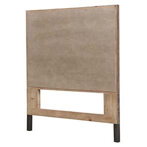 Tête de lit 90 industrielle en bois recyclé - Empreintes - Visuel n°6