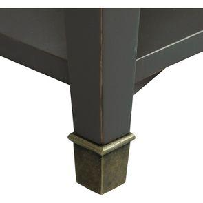 Table basse rectangulaire 4 tiroirs gris nuancé - Cénacle - Visuel n°8