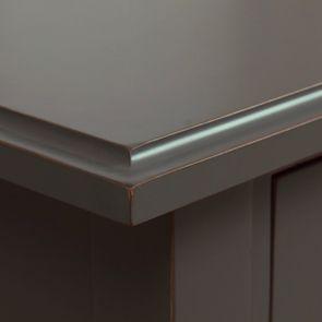 Table basse rectangulaire 4 tiroirs gris nuancé - Cénacle - Visuel n°10