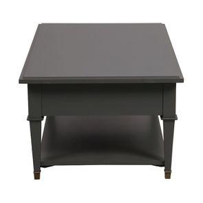 Table basse rectangulaire 4 tiroirs gris nuancé - Cénacle - Visuel n°5
