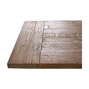 Commode bleue 5 tiroirs en bois recyclé - Rivages - Visuel n°4