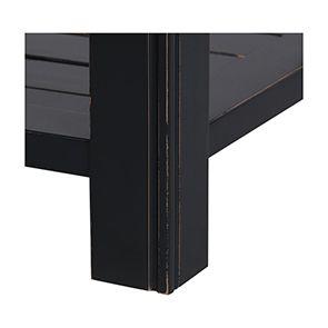 Commode bleue 5 tiroirs en bois recyclé - Rivages - Visuel n°6