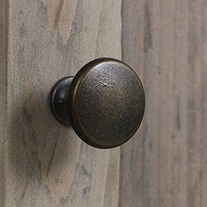 Cabinet de rangement bleu en bois recyclé - Rivages - Visuel n°9