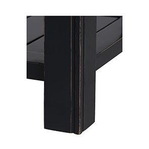 Cabinet de rangement bleu en bois recyclé - Rivages - Visuel n°10