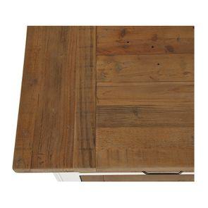 Buffet bas 4 portes 4 tiroirs en bois recyclé - Rivages - Visuel n°9