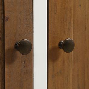 Buffet bas 4 portes 4 tiroirs en bois recyclé - Rivages - Visuel n°13