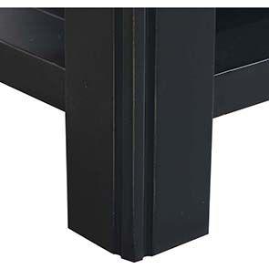 Table basse bleue rectangulaire avec rangement - Rivages - Visuel n°5