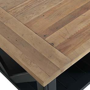Table basse bleue rectangulaire avec rangement - Rivages - Visuel n°7