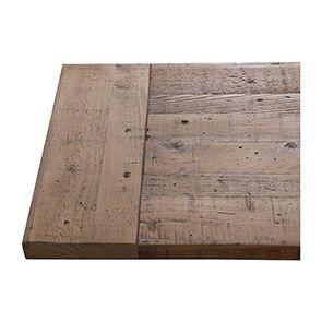 Banc bleu en bois recyclé L210 cm - Rivages - Visuel n°5