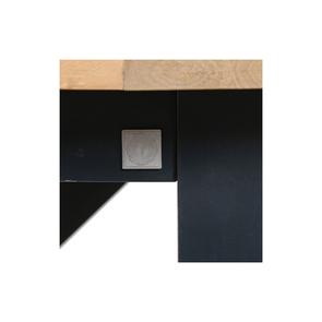 Table à manger rectangulaire bleue 4 à 6 personnes - Rivages - Visuel n°12