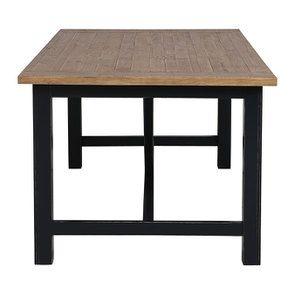Table à manger rectangulaire bleue 4 à 6 personnes - Rivages - Visuel n°7