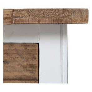 Console 3 tiroirs en bois recyclé blanc - Rivages - Visuel n°15