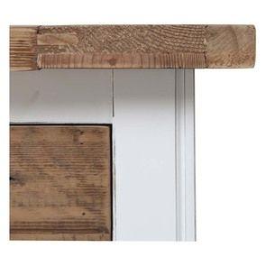 Console 3 tiroirs en bois recyclé blanc - Rivages - Visuel n°8