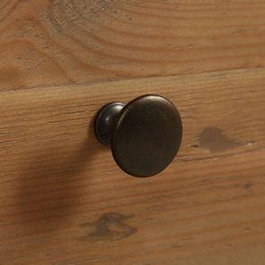 Console 3 tiroirs en bois recyclé bleu navy - Rivages - Visuel n°13