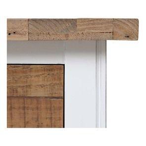 Commode 5 tiroirs en bois recyclé blanc - Rivages - Visuel n°10