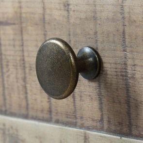 Commode 5 tiroirs en bois recyclé blanc - Rivages - Visuel n°11