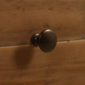 Commode 5 tiroirs en bois recyclé bleu navy - Rivages - Visuel n°11